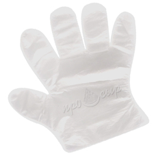 Перчатки одноразовые (большого размера)
